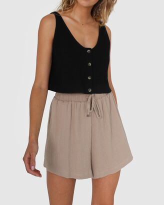 Lost in Lunar - Women's Shorts - Lucy Shorts - Size One Size, 6 at The Iconic