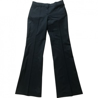 Theory Black Wool Trousers