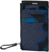 Kenzo monogram abstract wallet - men - Polyurethane - One Size