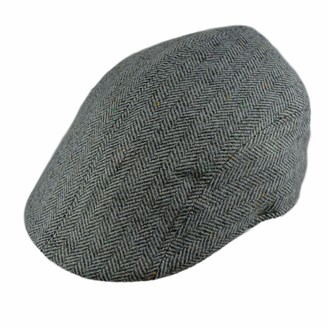 Pesci Kids Boys or Girls Flat Cap Traditional Tweed Peak Hats