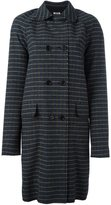 MSGM houndstooth coat - women - Polyester/Acrylic/Wool/other fibers - 40