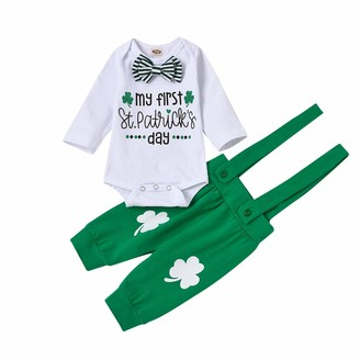 Gyratedream Girls Clothes Set Long Sleeve Bowknot T-Shirt Top Pants Trousers Leggings 2Pcs Outfit for 0-4 Years Kids