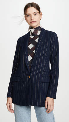 Scotch & Soda Pinstripe Blazer