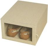"Richard's Homewares Richards Homewares Arrow-Weave Shoe Organizer Box - 9x12x6"""