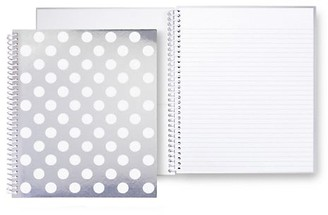 Kate Spade Large Polka Dot Spiral Notebook