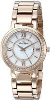 Lucien Piccard Women's LP-11902-RG-22MOP Analog Display Rose Gold-Tone Watch