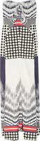 Zero Maria Cornejo Printed cotton-blend maxi dress