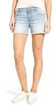 KUT from the Kloth Women's Gidget Frayed Denim Shorts