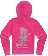 Juicy Couture Girls Logo Velour Scottie Dog Original Jacket
