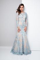 Terani Couture Bateau Mermaid Evening Gown 1711GL3530