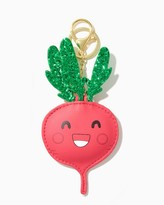 Charming charlie Cheerful Radish Glittery Keychain
