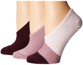 Converse 3-Pair Pack Made for Chuck Lurex Color Block Women's No Show Socks Shoes