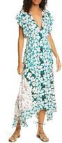 Rebecca Taylor Serene Floral Print Dress