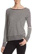 Joie Lise Striped Cashmere Sweater