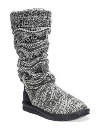 Muk Luks Jamie Knit Slipper Boot