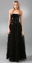 Sequin Tulle Gown