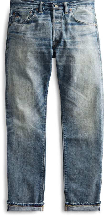 Ralph Lauren Low Straight Selvedge Jean