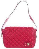 Marc Jacobs Quilted Leather Messenger Bag