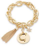 RJ Graziano G Initial Chain-Link Charm Bracelet