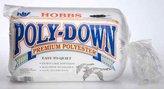 Hobbs 90 x 108-Inch Queen Polydown Batting, White