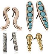 BCBGeneration Turquoise Stud Earrings