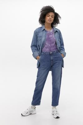Carhartt Work In Progress Pierce Mid Wash Jeans - Blue 27 at Urban Outfitters