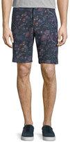 Etro Floral-Print Bermuda Shorts