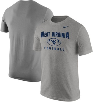 Nike Men's Gray West Virginia Mountaineers BCS Football Oopty Oop T-Shirt