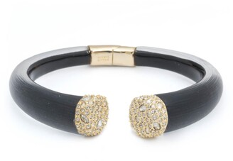 Alexis Bittar Essentials Encrusted Pave Hinged Bracelet