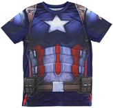 Mighty Fine Captain America Civil War Men's Sublimated Costume T-Shirt