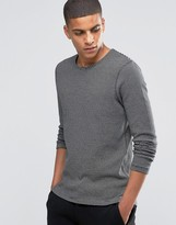 Selected Striped Crew Neck Sweat