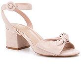 Aldo Beaute Leather Bow Dress Sandals