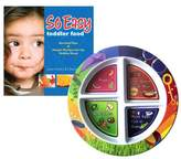 Fresh Baby Plate and So Easy Toddler Food Cookbook Value Pack