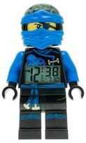 Lego Ninjago Jay Sky Pirates Kids Moveable Minifigure Alarm Clock - Blue