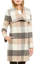 Katherine Kelly Alpaca Blend Envelope Collar Walker Coat