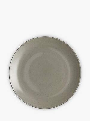 John Lewis & Partners Glaze Speckle Dinner Plate, Dia.27.6cm