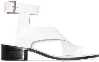 Osoi 40mm Asymmetric Leather Sandals