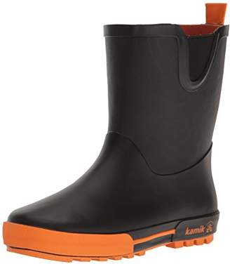 Kamik Boys' RAINPLAY Rain Boot