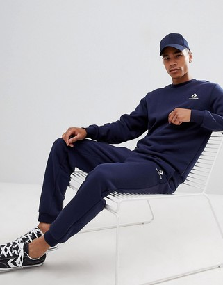 Converse Sweatpants In Navy 10008815-A02
