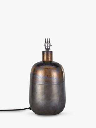 John Lewis & Partners Ember Metallic Ceramic Lamp Base, Bronze, H30cm
