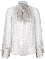Yves Saint Laurent pussy bow blouse