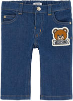 Moschino Regular fit jeans with a patch