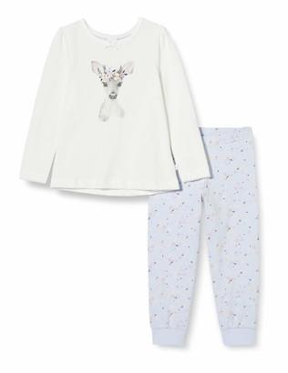 Sanetta Girl's Schlafanzug Broken White Pajama Set
