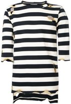 Miharayasuhiro striped T-shirt - men - Cotton - 46