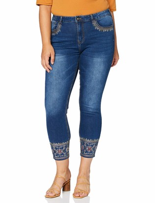 Desigual Women's Misses Denim Overall Trousers