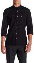 The Kooples Trim Fit Spread Collar Shirt
