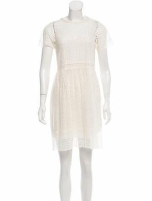 Marc Jacobs Eyelet Mini Dress w/ Tags gold