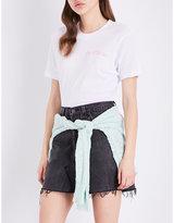 Wildfox Couture So Cliché cotton bodysuit