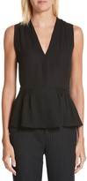 Rebecca Taylor Women's Sleeveless Silk Blouse