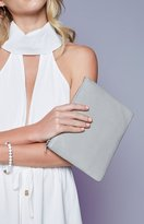 Status Anxiety Anti-Heroine Clutch Grey